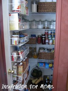 Inspiration For Moms: 21 Days To A Clean Organized Home: Day 13- The Pantry + Giveaway