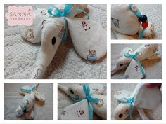 Little elephant with pattern => follow the link  ✽ Sanna Handmade ✽