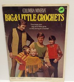 Vintage Crocheting Leaflet Big and Little Crochets by RaeOfLight, $2.00