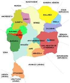 Mereindad de Durango - County of Durango - Wikipedia Spain History, Map, Location Map, Maps