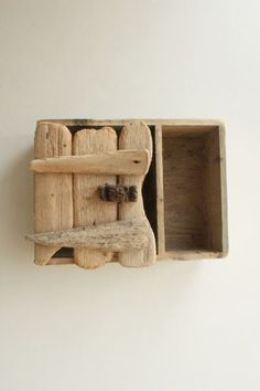 Driftwood Wall Cabinet 5