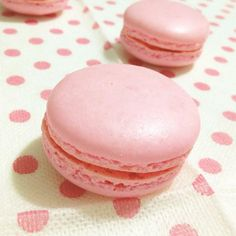 I had the first bite of pink rose macarons back in about 5 years ago. It was in Laduree, Paris. Rose Petals, Macarons, Sweets, Product Catalogue, French, Pink, Sweet Pastries, Rose, Goodies
