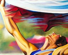 Finish Line Flag.   Limited Edition 20x30 Print by StefanieSweeney, $75.00