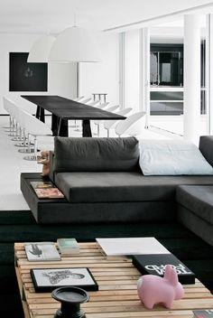 1 white pillow #interiors #design