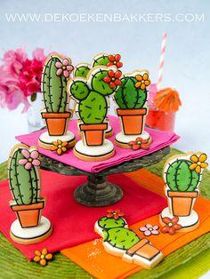 Cactus Cookie Cutter Set van 3DCookieCutterShop op Etsy