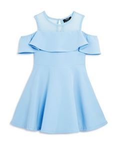 Bardot Junior Girls' Little Darling Scuba Fit & Flare Dress - Sizes 4-7 | Bloomingdales's