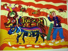 中国文艺网-中国农民画之美