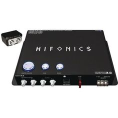 Hifonics Bxipro 2.0 Digital Bass Enhancement Processor With Noise-reduction Circuit