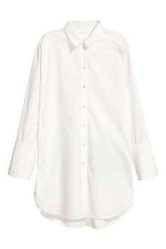 Long cotton shirt