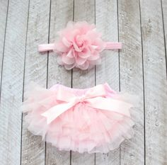 Ruffle Tutu Bloomer and Lace Flower Infant Headband Set, Newborn Baby Girl, Ballet Pink * Quickly view this special deal, click the image : Nursery Decor