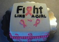 Fight Like A Girl cake 2011