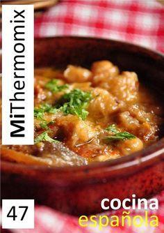 Cocina española by Montserrat Reyes - issuu Spanish Cuisine, Spanish Food, Best Cooker, Great Recipes, Favorite Recipes, Pork Dishes, Tapas, Food To Make, Delish