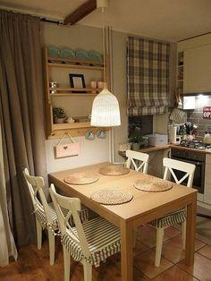 Interior Design Kitchen, Interior Design Living Room, Kitchen Decor, Cottage Shabby Chic, Indian Home Interior, Home Modern, Home Kitchens, Sweet Home, House Design