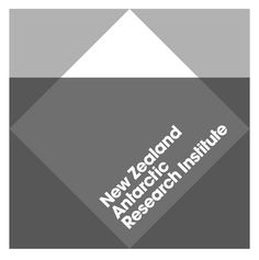 New Zealand Antarctic Research Institute. such a clever logo design by BRR.