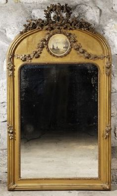 6 Knowing Clever Hacks: Vintage Home Decor Inspiration French Country southern vintage home decor.Southern Vintage Home Decor vintage home decor ideas rustic.French Vintage Home Decor Window. Old Mirrors, Vintage Mirrors, Table Vintage, Vintage Home Decor, French Decor, French Country Decorating, Trumeau Mirror, Mirror Mirror, Mirror House