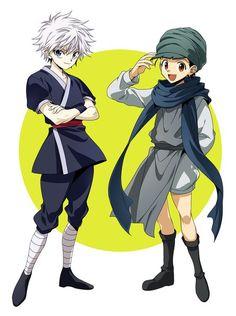 Hunter x Hunter  yaoi 