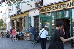The original Shakespeare & Co, run by Sylvia Beach and beloved of Hemingway and his ilk, closed in the 1940s during the occupation of Paris (the site at 12