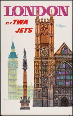 TWA London (1960s) Design by David Klein