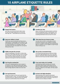 Pack These 10 Airplane Etiquette Rules the Next Time You Fly