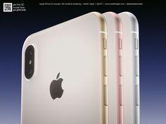 iPhone 8 : Martin Hajek limagine de toutes les couleurs