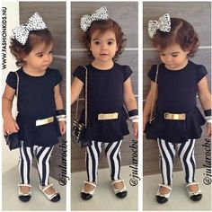 If I have kids this is how chic my little girl will look
