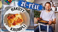 Zé-féle rakott krumpli BESAMELLEL 🤩👌 French Toast, Breakfast, Youtube, Heaven, Food, Street, Sky, Meal, Heavens