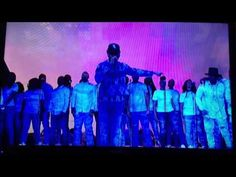 Kanye West, Chance the rapper & kelly price ULTRA LIGHT BEAM Performance...