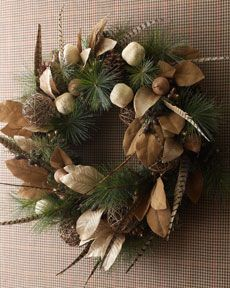 Country Estate Christmas Wreath sold at Horchow.com