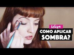 Tutorial para Iniciantes: como aplicar sombra? Vários modos!  Tutorial for Beginners: How to Apply Eyeshadow?
