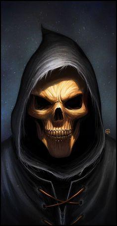 Death's smile by =TovMauzer on deviantART
