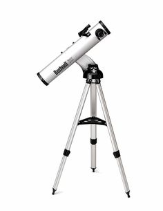 BUSHNELL 78 8846 Northstar(R) Talking Reflector Telescope x 900 x motorized reflector telescope; Real Voice Output(TM) (RVO) describes the night sky in a human voice; Insurance Auto Auction, Bushnell Binoculars, Telescopes For Sale, Science Supplies, Night Vision, Tripod, Astronomy, Ebay, Fotografia