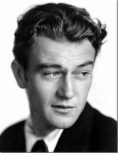 John Wayne - what a beautiful photograph!