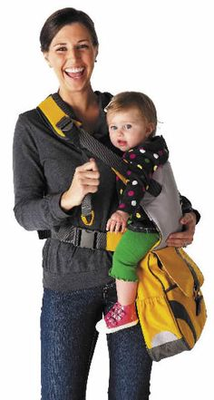 No need to tote extra gear: simply grab The Sidekick on your way out and you'll have everything you need to care for and carry your baby. Wear over your shoulder, around your waist or across your shoulder, and with the adjustable strap you can carry your baby on either hip. The Sidekick allows you to create a comfortable, reliable nest for a baby of up to 35 pounds in just a few simple steps.
