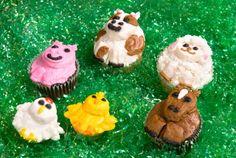 Animal cupcakes!