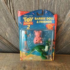 Vintage items lovingly chosen to bring back memories. by EllaTheSella Disney Toys, Disney Pixar, Disney Collector, Barbie Toys, Barbie And Ken, Vintage Disney, Toy Story, Kids Toys, Action Figures