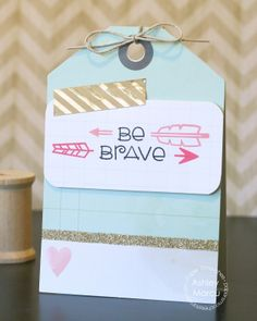 Card by PS DT Ashley Marcu using the PS Mini Monograms, Love-Struck