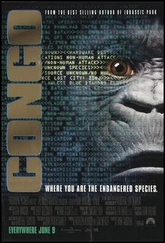 Watch Congo full hd online Directed by Frank Marshall. With Laura Linney, Tim Curry, Dylan Walsh, Ernie Hudson. When an expedition to the African Congo ends in disaster, a new team is assembl 1995 Movies, All Movies, Action Movies, Horror Movies, Movie Tv, Neptune In Capricorn, Frank Marshall, Ernie Hudson