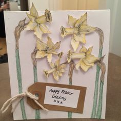 Spring themed easter cards