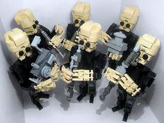 LEGO Cantina Band by countblockula, via Flickr
