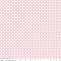 Dots by Riley Blake   Small Dot Baby Pink by CottonBlossomFarm, $9.25