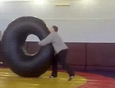 Russian gym class. BRB, need to go to Russia...