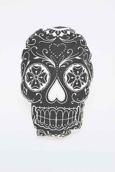"""The Rise and Fall – Kissen """"Sugar Skull"""" - Urban Outfitters"""