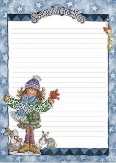 Printable Christmas notes