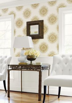 New Wallpaper Introductions: Thibaut Wallpaper Graphic Resource | The English Room