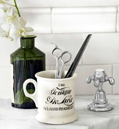 By Melinda Page for  Country LivingFrom straight razors to shampoo stools, barbershop antiques double as well-groomed decor.