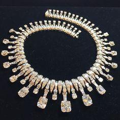 A Bulgari necklace to die for! #circa1930 #88totalcarats #diamonds #bulgari The…