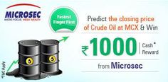 #Predict the closing price of #CrudeOil at #MCX  http://www.foreseegame.com/user/GamePlay.aspx?GameID=RGz%2fGH7BAB0lW%2fFCE2sPmQ%3d%3d
