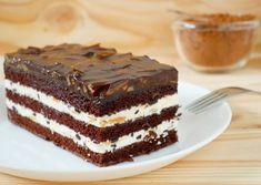 Olcsó és finom csokis-tejfölös süti - Imádni való finomság a legegyszerűbben Vanilla Bean Cakes, Easy Vanilla Cake Recipe, Easy Cake Recipes, Apple Recipes, Sweet Recipes, Cake Bars, Ice Cream Recipes, Sweet Desserts, Winter Food