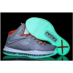 sale retailer 61148 28eb4 Buy Cool 2013 Nike Lebron X 10 Mens Shoes Glowing Cool Grey Orange Outlet  Cheap from Reliable Cool 2013 Nike Lebron X 10 Mens Shoes Glowing Cool Grey  Orange ...