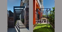 Nundah House   KO & Co Architecture Outdoor Rooms, Kos, Stairs, Architecture, Home Decor, Stairways, Arquitetura, Ladder, Decoration Home